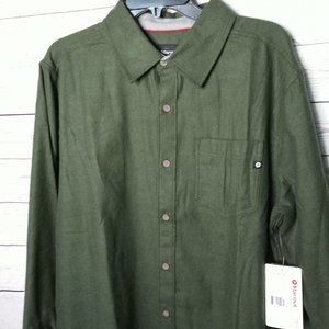 Marmot Hobson Midweight Flannel Shirt Large NWT